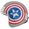 Obrázek z iXS HX 89 AMERICAN 2 motocyklová helma s červeno-modrou grafikou
